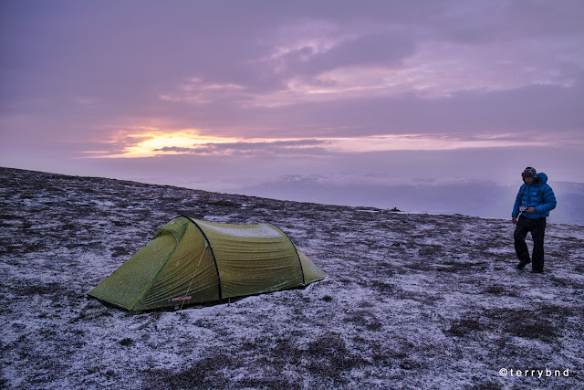 Force Ten Nitro Lite 200, wild camping, Scotland