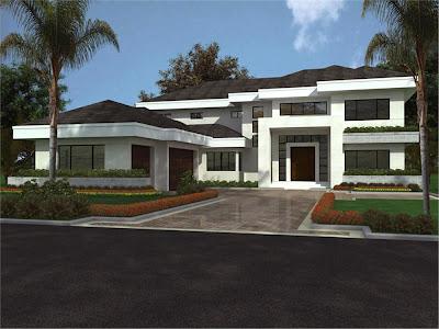Divagues on ricos nuevamente las casas grandes for Casa moderna de un piso grande