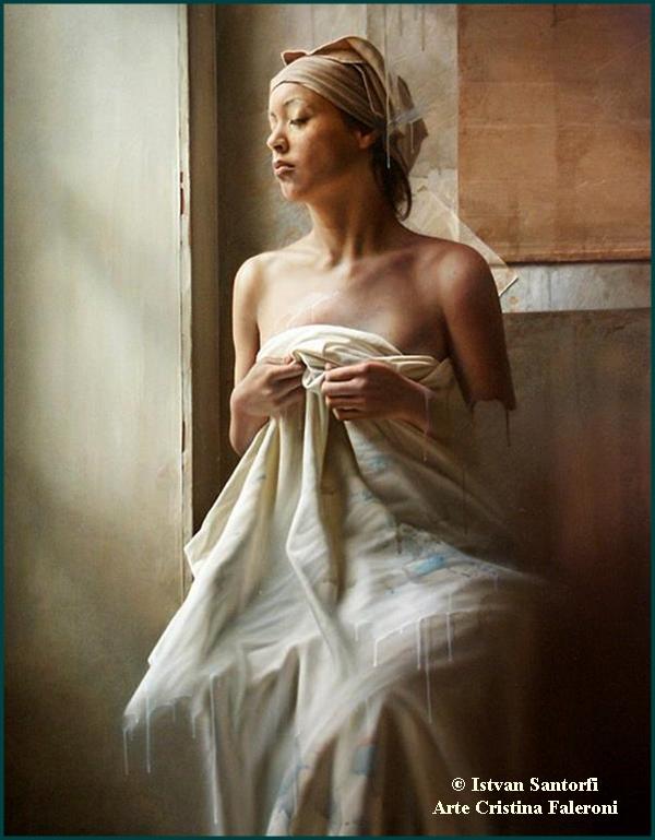 Painter Istvan Sandorfi