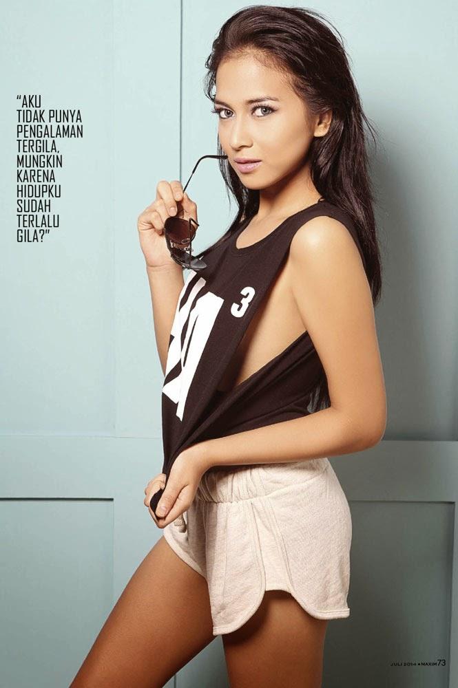 Nina Zatulini For Maxim Indonesia July 2014 Photoshoot | MagzSpider