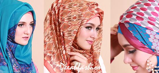 Trend Jilbab Terbaru 2014 MotifTurki