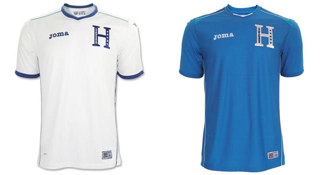Camisetas selección Honduras Mundial 2014