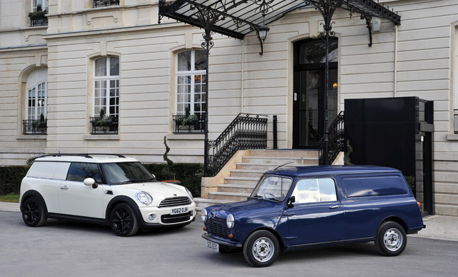 Mini Clubvan and Morris Mini Van