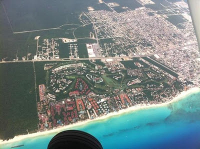 Playa del Carmen Aerial View - Playacar