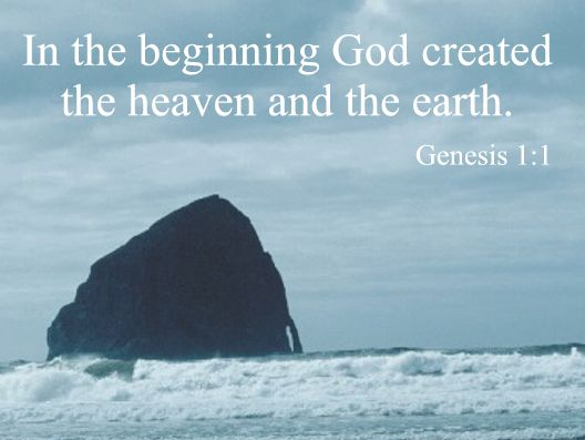 the creation of the universe the earth and human beings The traditional catholic doctrine of creation which is the end of the whole universe and disease should exist on earth before the first human beings.