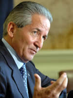 Ricardo Maduro, Honduran president, 2002-2006
