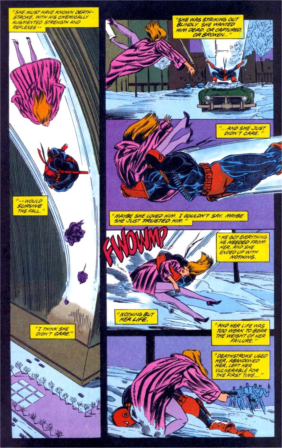 Deathstroke (1991) Issue #12 #17 - English 19