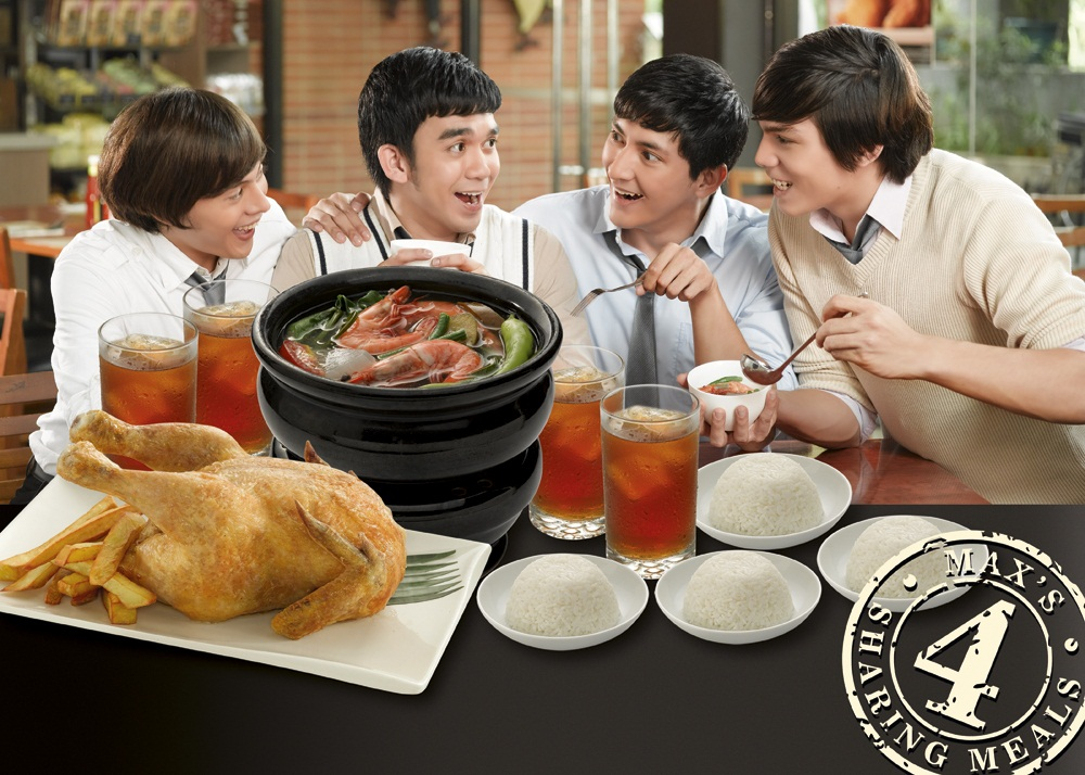 Maxs 4Sharing Meals Perfect For Barkada Bonding