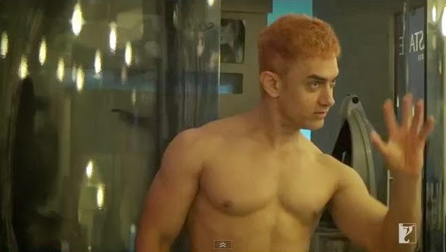 10 Pictures Aamir Khan s Hot Look In Dhoom 3