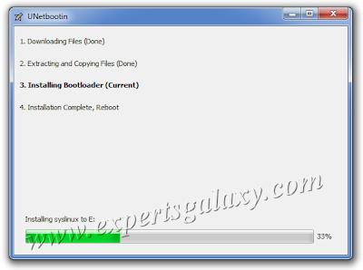 USB Drive Bootloader Installation