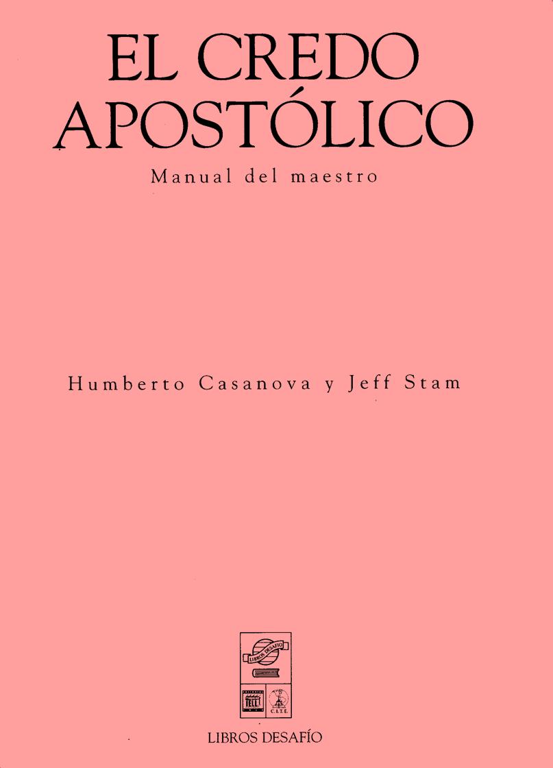 Varios Autores-El Credo Apostólico-Manual Del Maestro-