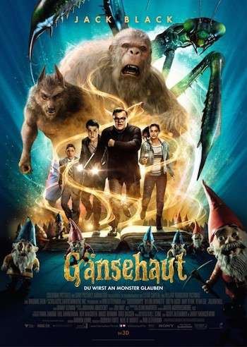 Goosebumps 2015 English Movie Download