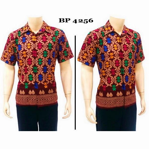 Baju Hem Batik Pria BP4256