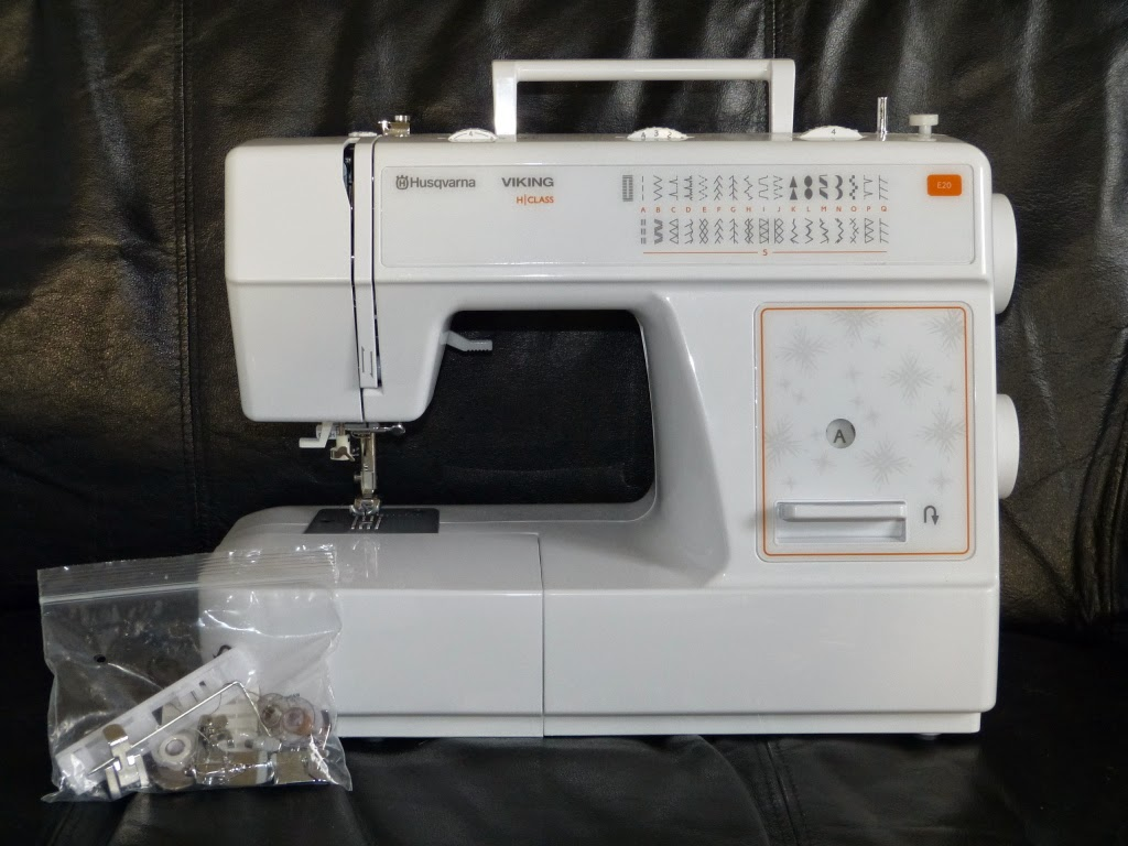 maszyna do szycia Husqvarna E20