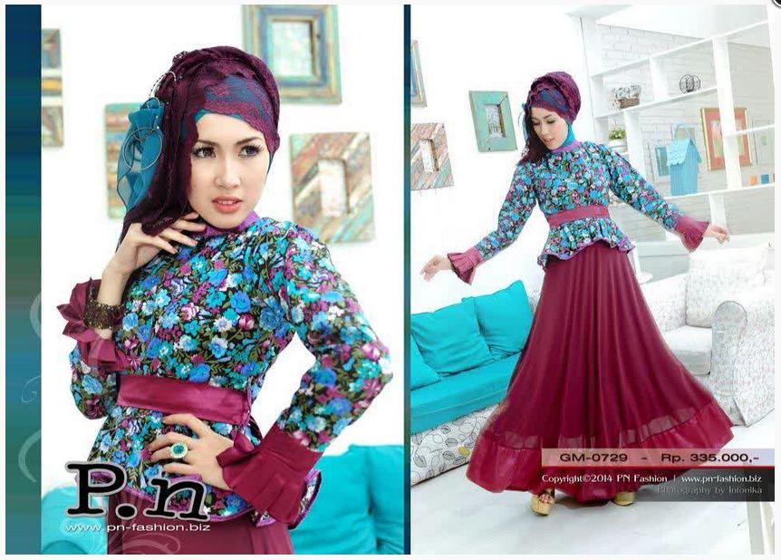 Style Fashion Baju Muslim Model Terbaru Masa Kini 2015