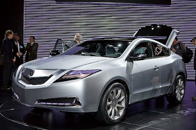 2010 Acura ZDX front side view
