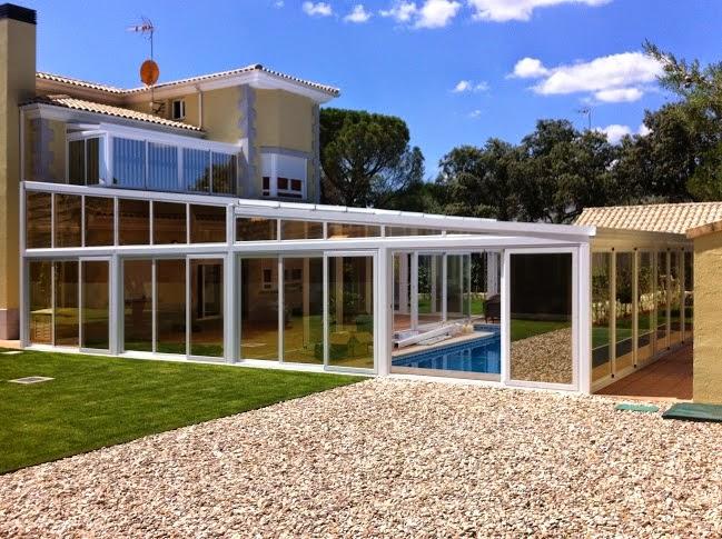 Cerramiento de vivienda para la ampliaci n del sal n en - Cerramientos para patios ...