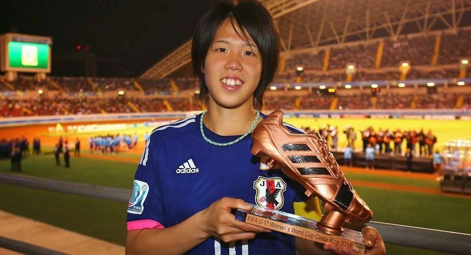 Hina Sugita : Adidas Bronze Boot