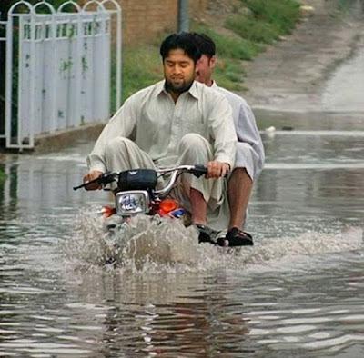 Moto à prova d'água?
