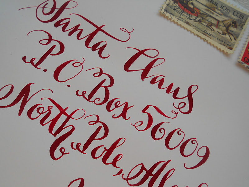 Put a 50 deposit down on your wedding calligraphy and choose from one of