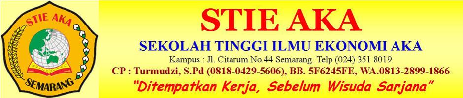 STIE AKA Semarang, PMB STIE AKA Semarang, Pendidikan & Penempatan Kerja