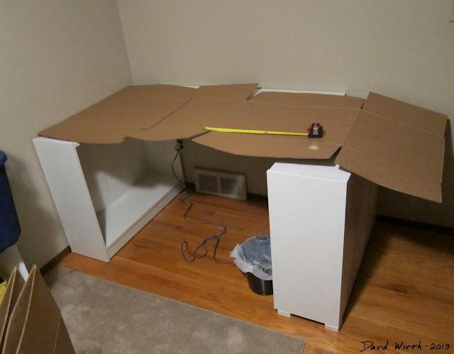 tabletop pattern, trace, cardboard