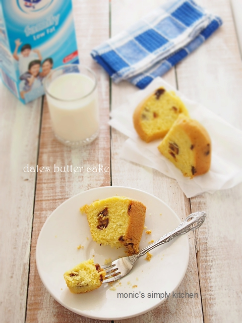 resep butter cake kurma