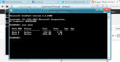 Cara Install Windows 8 via USB Flashdisk - Master Astronomi