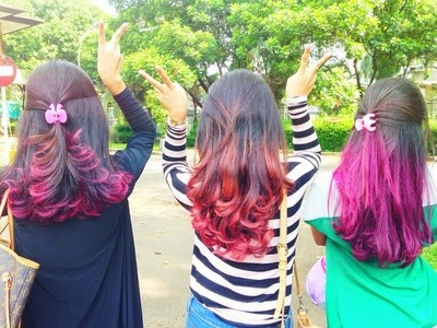 Rambut Ombre