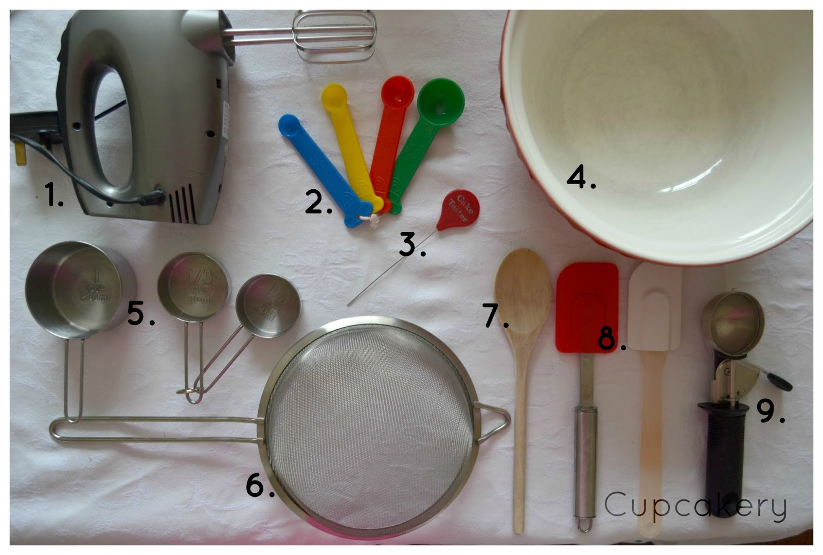 Cupcakery: Cupcake Baking Equipment 101