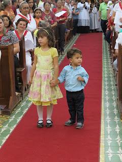 Abertura da 113ª festa do Sagrado Coração de Jesus e posse de Pe. Thiago como Pároco da paróquia de Almino Afonso.