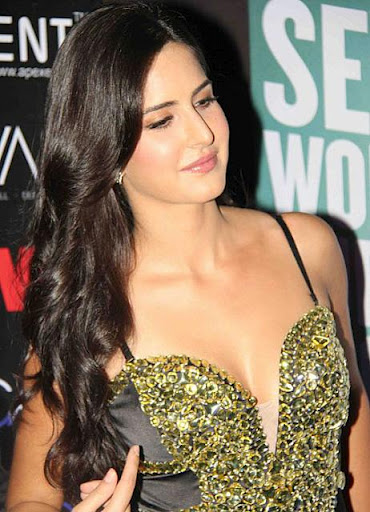 Sexy Actress Katrina Kaif In Hot Exposed Dress Latest Stills