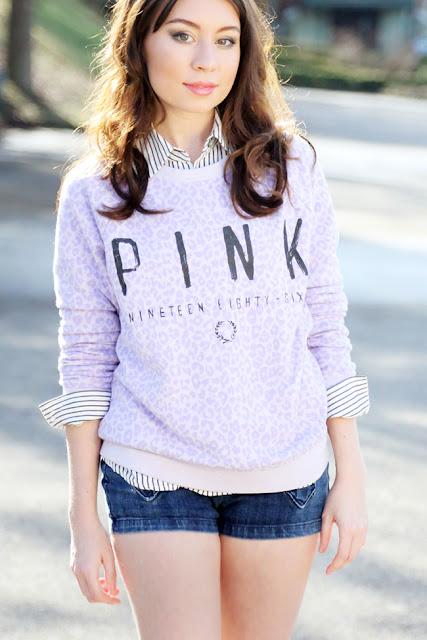 Victoria's Secret VS PINK Crew Sweatshirt, alaLadywolf, Whitney S. Williams