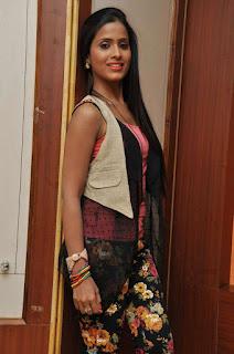 Prashanthi at affair press meet 006.jpg