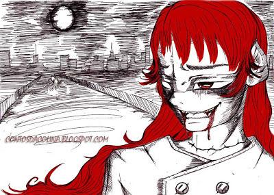 contos de terror - contos de vampiros - absinto vermelho