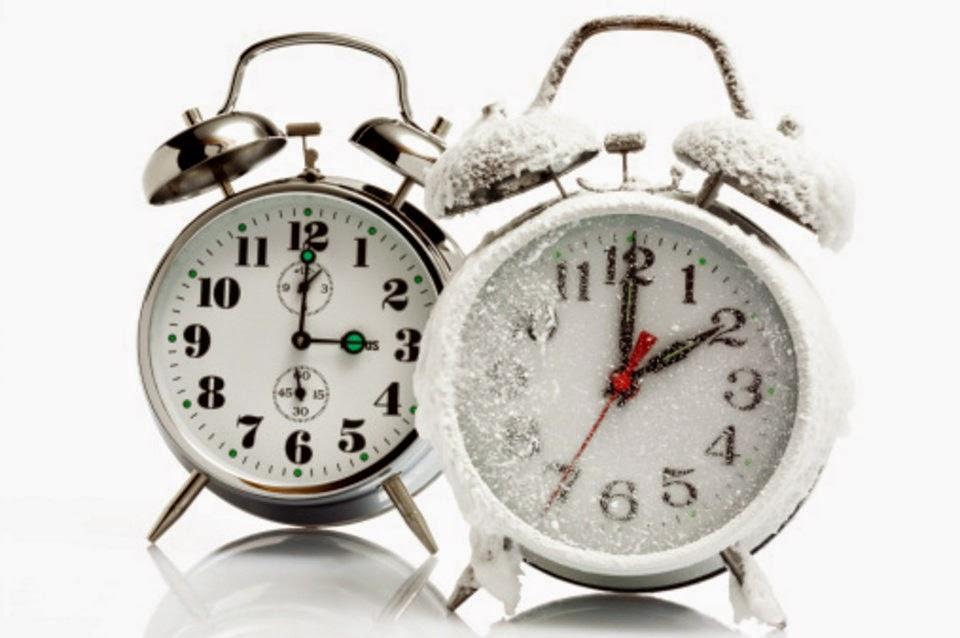 Cambio de horario: Invierno 2014