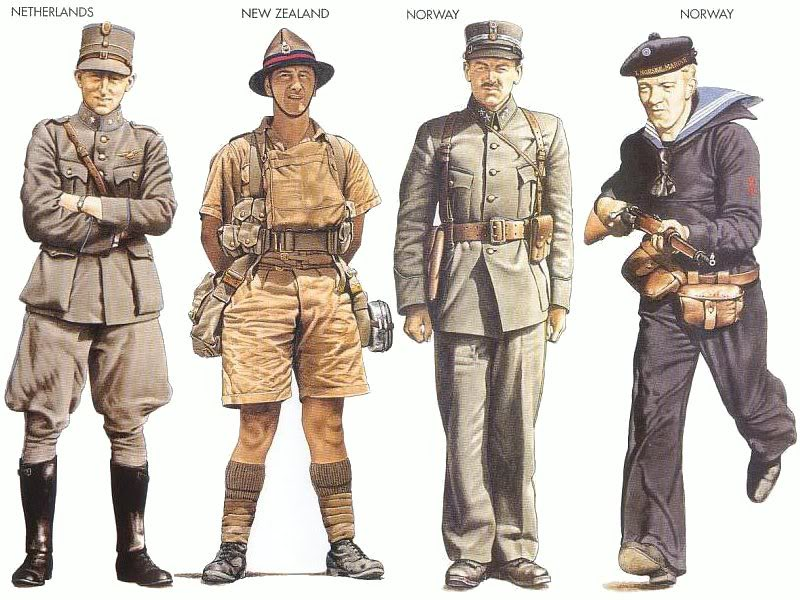 A look at military uniforms through the years as US Army