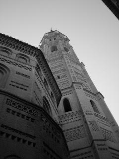 Torre y ábside de la colegiata de Santa María de Calatayud