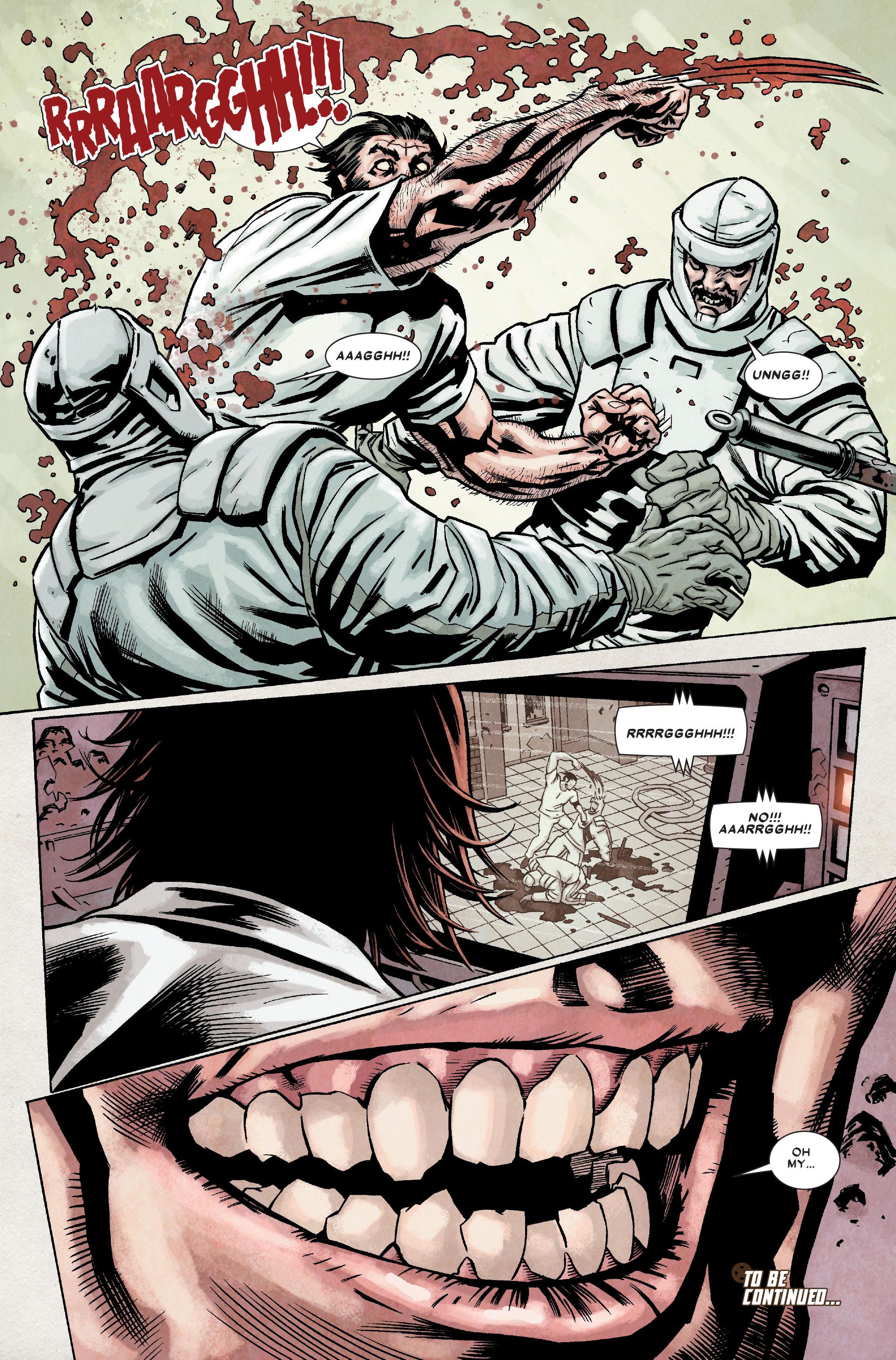 Wolverine: Weapon X #7 #10 - English 24