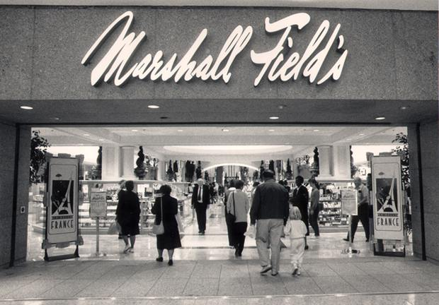Livemalls marshall fields later kaufmanns and macys columbus city center columbus ohio various sources sciox Choice Image