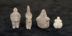 Mother goddess figurines from circa 7000 BCE