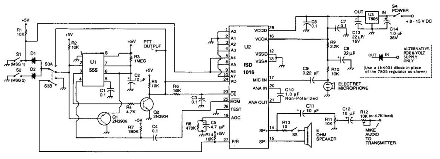 Voice Circuit Diagram