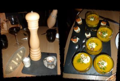 Image mise en bouche Restaurant Les Frères Fourchettes à Toulouse