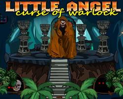 Juegos de Escape Little Angel Curse Of Warlock