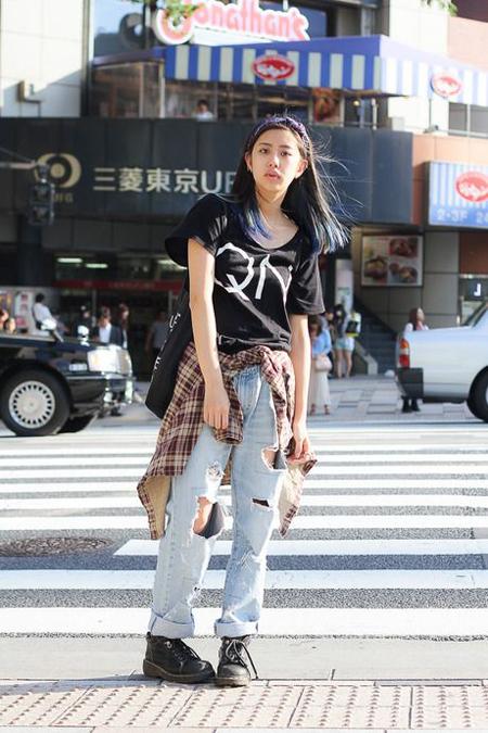 denim / streetcolorstyle