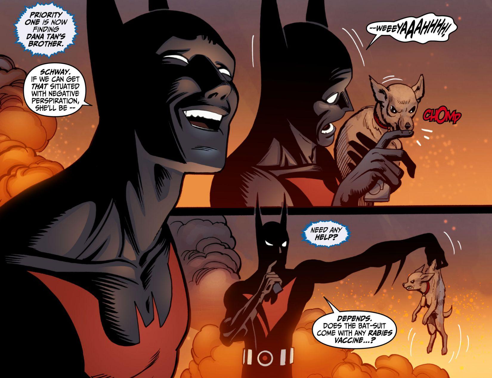 Batman Beyond (2012) Issue #6 #6 - English 19