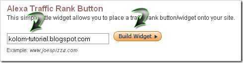 Tutorial Pasang Widget Alexa di Blogspot