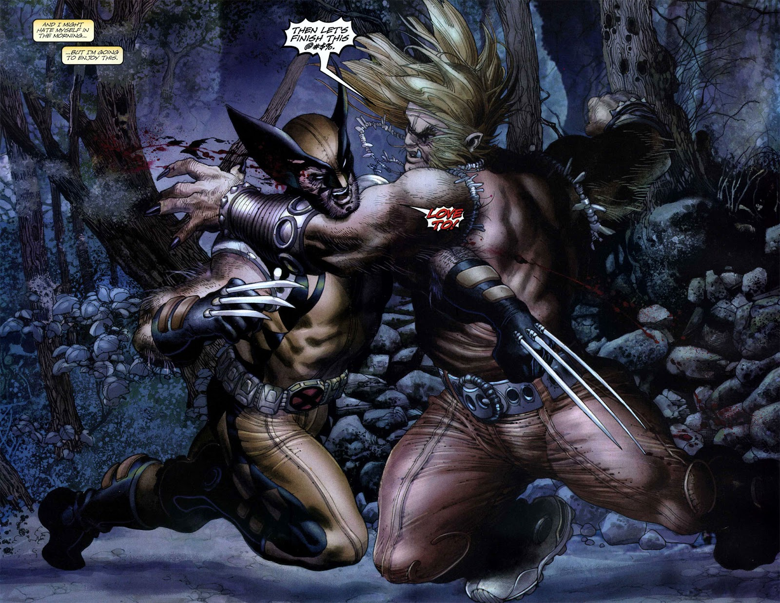 Read online Wolverine (2003) comic -  Issue #50 - 10