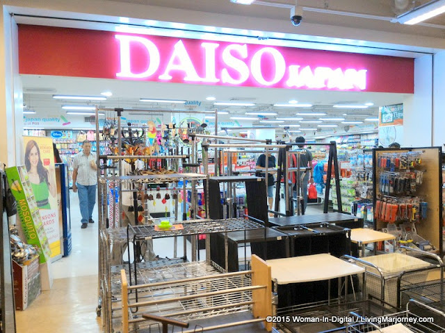 Daiso Trinoma Level 1 inside True Value