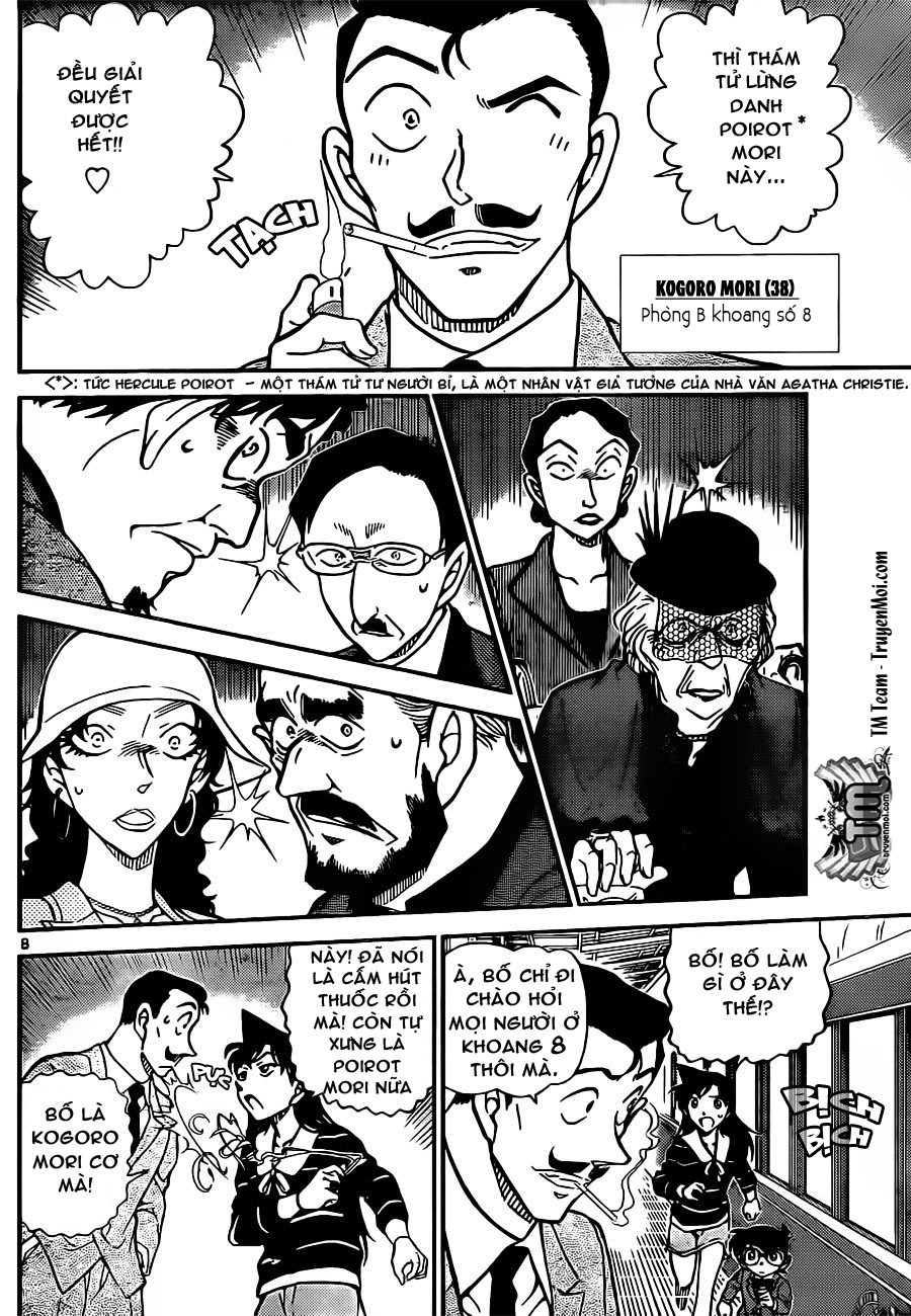Detective Conan - Thám Tử Lừng Danh Conan chap 818 page 8 - IZTruyenTranh.com